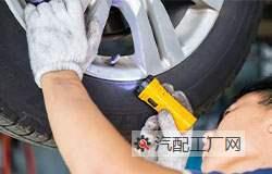 东风汽车配件厂家告诉你如何识别汽车轮胎是否该更换