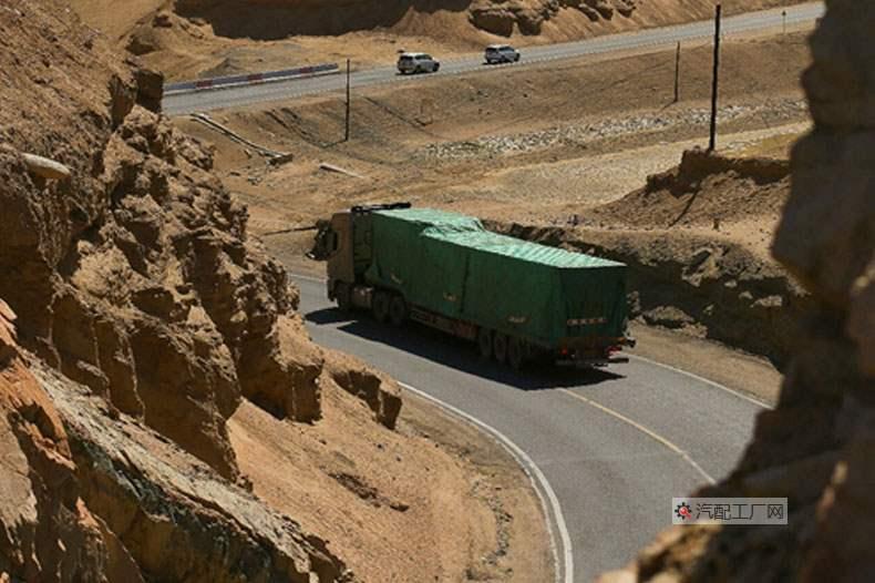 青藏公路格尔木至拉萨段部分路段取景
