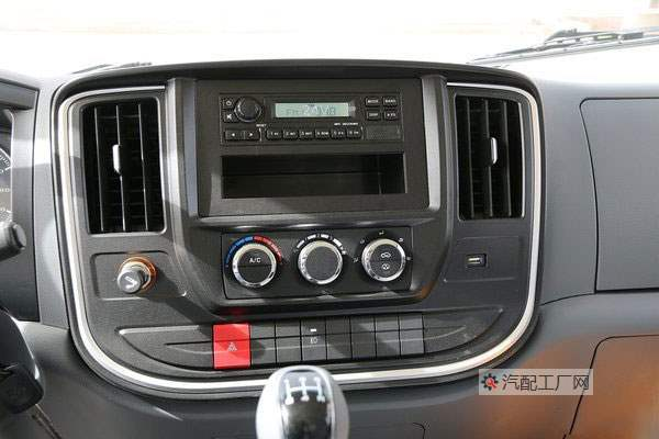 陕汽德龙K3000驾驶室中控台
