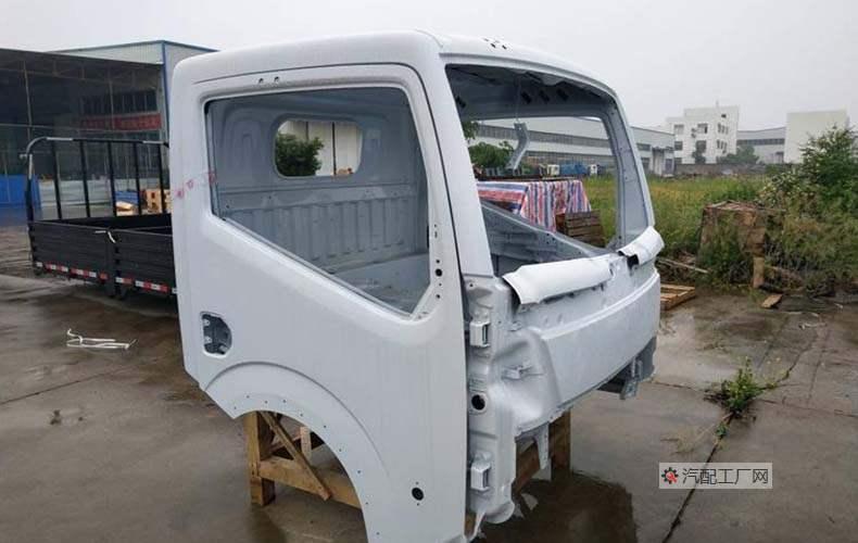 东风凯普特K6驾驶室空壳侧面图